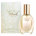 Vanilla Musk by Coty, 1 oz Cologne Spray for Women
