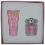 Versace Bright Crystal by Versace, 2 Piece Gift Set for Women with 1 oz EDT