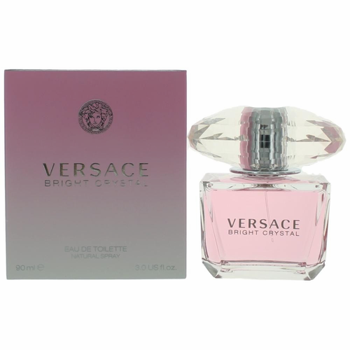 Authentic Versace Bright Crystal Perfume By Versace, 3 oz