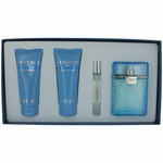 Versace Man Eau Fraiche by Versace, 4 Piece Gift Set for Men