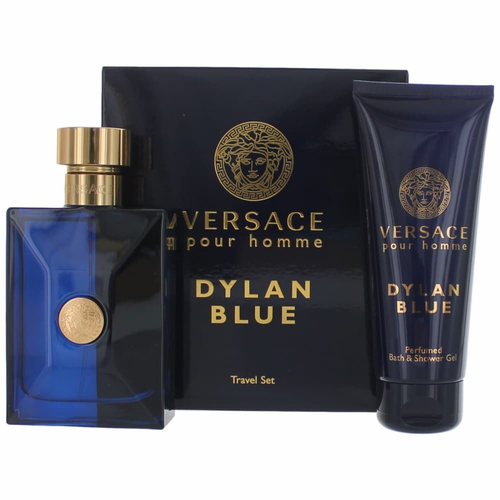 Versace Pour Homme Dylan Blue by Versace, 2 Piece Gift Set for Men