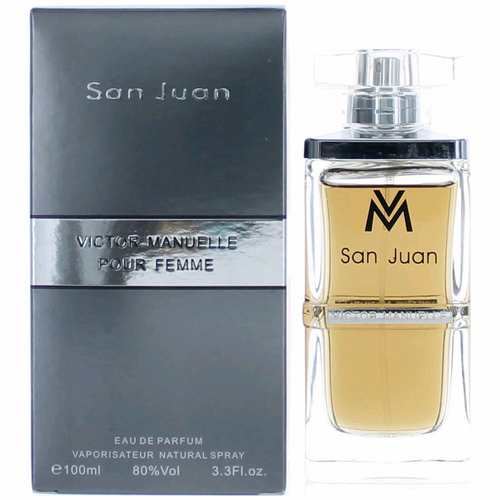 Victor Manuelle San Juan by Victor Manuelle, 3.3 oz Eau de Parfum Spray for Women