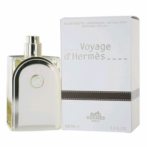 Voyage d'Hermes by Hermes, 3.4 oz Eau De Toilette Refillable Spray Unisex