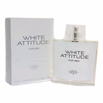 White Attitude by Deray, 3.4 oz Eau De Toilette Spray for Men