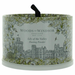 Woods Of Windsor Lily Of the Valley by Woods Of Windsor, 3.5 oz Dusting Powder with Puff for Women