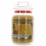 Yankee Candle Scented 22 oz Large Jar Candle - Star Anise & Orange