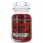 Yankee Candle Scented 22 oz Large Jar Candle - True Rose