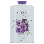 Yardley April Violets by Yardley of London, 7 oz Talc for Women