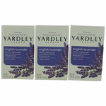 Yardley Naturally Moisturizing Bath Bar English Lavender by Yardley of London, 3 x 4.25 oz Soap for Women