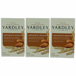 Yardley Naturally Moisturizing Bath Bar Oatmeal & Almond by Yardley of London, 3 x 4.25 oz Soap for Women
