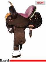 "12"" 13"" Circle Y Youth Avenger Barrel Saddle 1179"