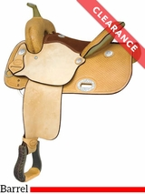 "12.5"" Billy Cook EP Racer Barrel Saddle 291268 CLEARANCE"