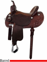 "12.5"" to 15.5"" Martin Saddlery FX3 Barrel Racer 67-C1"