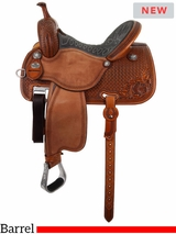"12.5"" to 15.5"" Martin Saddlery Sherry Cervi Crown C Custom Barrel Racer 97-C1"