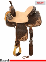 "12.5"" to 16"" Reinsman Team Camarillo Barrel Racer 4234 w/$210 Gift Card"
