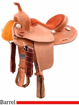 "** SALE ** 12"" Cashel Kids Barrel Saddle SA-CKBR-12"