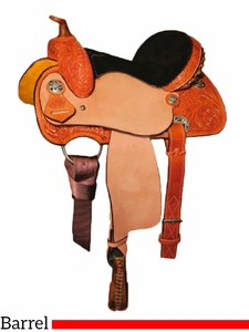"10"" to 13"" Circle Y Little Cowpoke Youth Barrel Racer Saddle 3002"