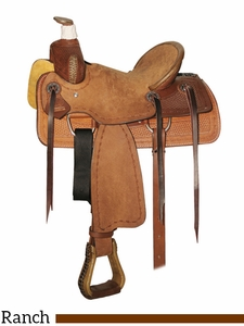 """10"""" to 13"""" Circle Y Little Cowpoke Youth Rancher Saddle 3003"""