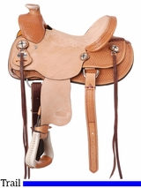 "12"" to 14"" Silver Royal Wylie Youth Wade Saddle 401"
