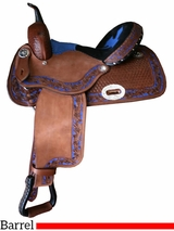 "** SALE ** 12"" to 16"" Alamo Barrel Saddle 1204-BS"