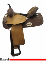 "** SALE ** 12"" to 16"" Alamo Barrel Saddle 1234"