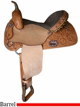 "** SALE ** 12"" to 16"" Alamo Barrel Saddle 1234-CC"