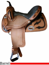 "** SALE ** 12"" to 16"" Alamo Barrel Saddle 1274-BJ"