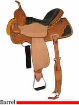 "12"" to 16"" Circle Y Serenity Barrel Saddle 2204 w/$105 Gift Card"