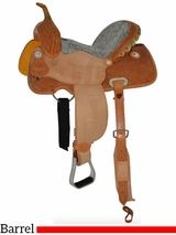 "12"" to 16"" Circle Y Dreamer Barrel Saddle 2203 w/$105 Gift Card"