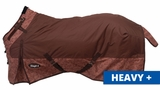 1200D Waterproof Snuggit Turnout Blanket in Tooled Leather Print, Med/Heavy