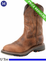 12EE Men's Double-H Workflex Roper Boots DH5132 CLEARANCE