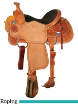 "DISCONTINUED 14"" to 16"" Reinsman Lady Roper Saddle 4402"