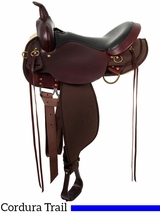 "13"" to 17"" High Horse by Circle Y Eldorado Cordura Trail Saddle 6915 w/$55 Gift Card"