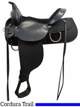 "** SALE ** 13"" to 17"" High Horse by Circle Y Lockhart Cordura Trail Saddle 6910 w/$55 Gift Card"