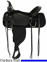 "DISCONTINUED 13"" to 17"" High Horse by Circle Y Corsicana Cordura Trail Saddle 6920"