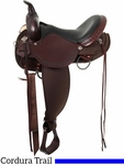 "** SALE ** 13"" to 17"" High Horse by Circle Y Daisetta Cordura Trail Saddle 6914"