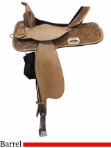 "** SALE ** 13"" to 17"" High Horse by Circle Y The Proven Mansfield Barrel Saddle 6221"