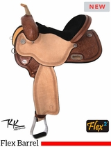 "13"" to 17"" Circle Y Kelly Kaminski Spark Flex2 Barrel Racer 3030 w/$105 Gift Card"