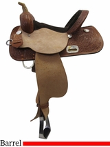 "13"" to 17"" High Horse by Circle Y Liberty Barrel Saddle 6212"