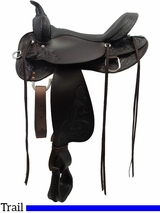"13"" to 17"" High Horse by Circle Y Oyster Creek Trail Saddle 6808 w/$105 Gift Card"