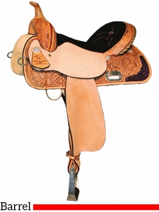 "13"" to 17"" High Horse by Circle Y Proven Aurora Barrel Saddle 6215 w/$105 Gift Card"