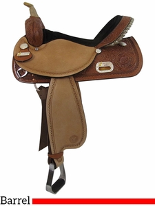 "** SALE ** 13"" to 17"" Circle Y The Proven Rush Barrel Racer 3029"