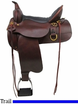 "13"" to 17"" High Horse by Circle Y Big Springs Trail Saddle 6862 w/$80 Gift Card"