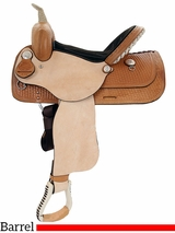 "** SALE ** 13"" to 16"" American Saddlery The Denero Barrel Racing Saddle 824 825"