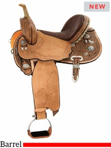 """** SALE ** 13.5"""" to 17"""" Circle Y Josey Ultimate Starlight Barrel 1159 w/$210 Gift Card"""