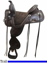 "** SALE ** 13.5"" to 17.5"" Circle Y Cloud Peak Tree Free Trail Saddle 1300 w/$105 Gift Card"