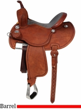 "12.5"" to 15.5"" Martin Saddlery FX3 Barrel Racing Saddle mr67P"