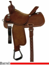 "12.5"" to 15"" Martin Saddlery Sherry Cervi Crown C Barrel Racer mr97W"