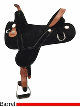 "** SALE ** 13.5 to 16.5"" Circle Y Rally Treeless Barrel Saddle 2310 w/$105 Gift Card"