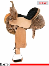 "13.5"" to 17"" Circle Y Josey Ultimate Hiphugger Barrel Saddle 1174 w/$210 Gift Card"